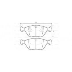 Plaquettes Bosch (BP365)